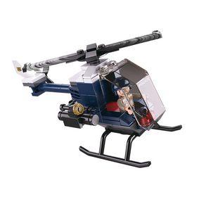 Stavebnicové Kostky Police Serie Helikoptéra