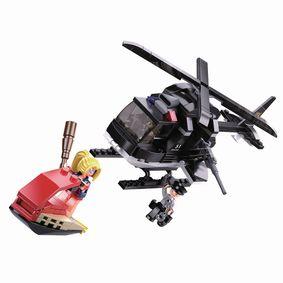 Stavebnicov� Kostky Police Serie SWAT Vrtuln�k