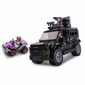 Stavebnicov� Kostky Police Serie SWAT Truck