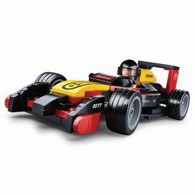 Stavebnicové Kostky Carclub Series Race Car