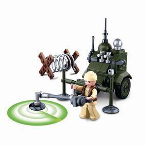 Stavebnicov� Kostky WWII Serie Allied Minesweeper