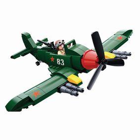 Stavebnicové Kostky WWII Serie Ilyushin Il-2 Allied Fighter Plane