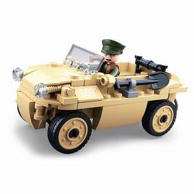 Stavebnicov� Kostky WWII Serie VW 82 German Amphibious Car