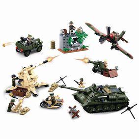 Stavebnicov� Kostky WWII Serie Battle of Kursk