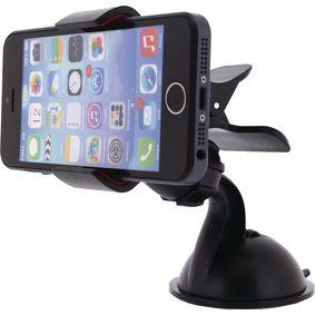 Univerz�ln� Dr��k na Telefon Palubn� Deska a Okno v Automobilu �ern�