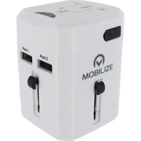 Cestovní Adaptér Svìt USB Nezemnìný