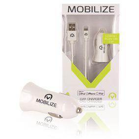 Univerzální AC Napájecí Adaptér USB / 1x Auto Bílá