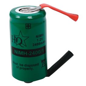 Dob�jec� NiMh Baterie 1.2 V 2400 mAh 1-Bal��ek