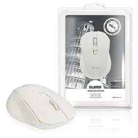 Bezdrátová Myš Stolní 3 Tlaèítka Bílá