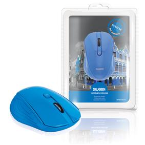 Bezdrátová Myš Stolní 3 Tlaèítka Modrá