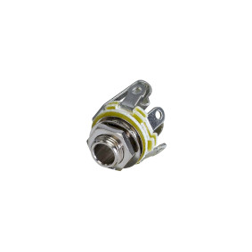 Stereo Konektor 6.35 mm Z�suvka St��brn� - zv�t�it obr�zek