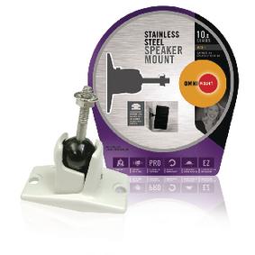 Držák Reproduktoru Full Motion 4.5 kg Bílá
