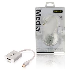 Kabel Mini DisplayPort Mini DisplayPort Zástrèka - HDMI Zástrèka 0.20 m Bílá - zvìtšit obrázek
