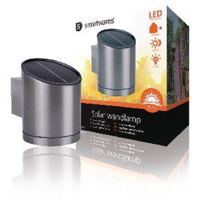 Solární Nástìnné Svítidlo LED Støíbrná - zvìtšit obrázek
