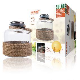 Solární Zahradní Svítidlo LED