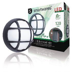 LED Venkovní Nástìnné Svítidlo 4 W 270 lm Èerná