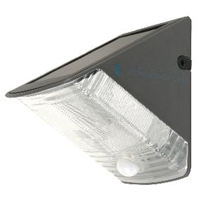 Solární Nástìnné Svítidlo 1 LED Èerná