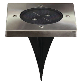 Solární Reflektor 2 LED Ètverec