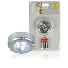 LED Dotykov� Lampa 3 St��brn�