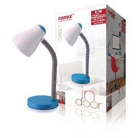 LED Stolní Lampa Modrá