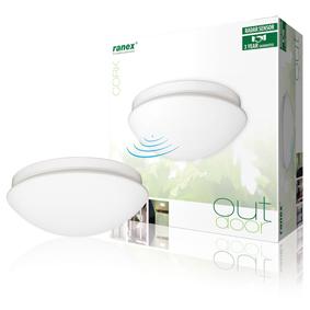 LED Stropní Svítidlo se Senzorem 0.7 W Bílá