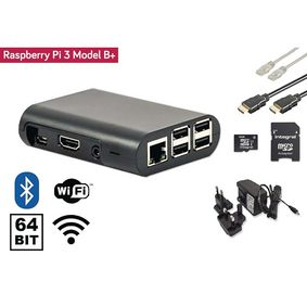 Raspberry Pi 3  Starter Kit   Wi-Fi   Bluetooth�   NOOBS Software Tool