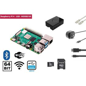 Raspberry Pi 4 1 GB Starter Kit   NOOBS Software Tool - zvìtšit obrázek