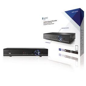 4 - Kanálové DVR HDD 1 TB