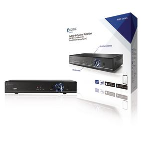 8 - Kanálové DVR HDD 1 TB