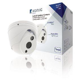 Full HD Kopulov� CCTV kamera IP66 B�l�