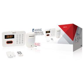 Bezdrátová Zabezpeèovací Sada PSTN - 433 MHz / 90 dB