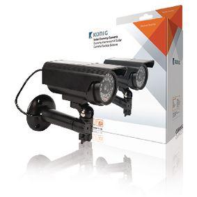 Válcová Atrapa Kamery IP44 Èerná