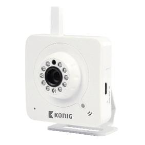 IP kamera Interiér VGA Bílá
