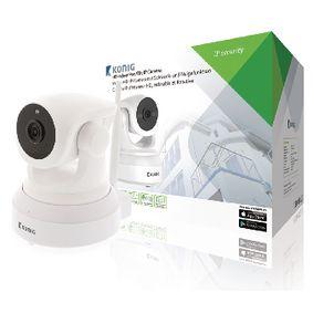 HD IP kamera s N�klonem a Nato�en�m Interi�r 1280x720 B�l�