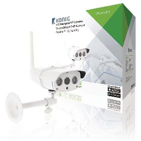 HD IP kamera 1280x720 Venkovní Bílá
