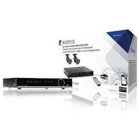 CCTV Sada HDD 500 GB / 700 TVL - 2x Kamera