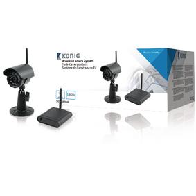 Analogová Bezdrátová Pozorovací Sada 5.8 Ghz - 1x Kamera