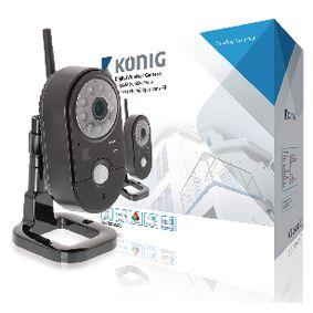 2,4 GHz bezdr�tov� kamera Interi�r VGA �ern�
