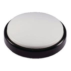 LED Venkovní Nástìnné Svítidlo 8 W 500 lm Èerná / Bílá
