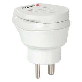 SKross Travel Adapter Combo - World-to-Denmark Earthed  - zvìtšit obrázek