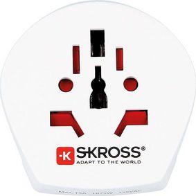 SKross Travel Adapter World-to-USA Earthed - zvìtšit obrázek