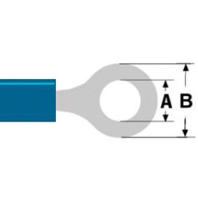 Konektor Fast On 5.3 mm Zásuvka Modrá - zvìtšit obrázek