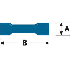 Konektor Fast On 4.8 mm Zásuvka Modrá - zvìtšit obrázek