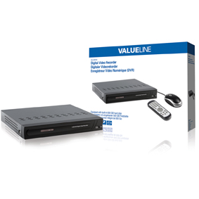 4 - Kan�lov� DVR HDD 500 GB