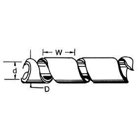 Kabelové Bužírky 100 mm 10.0 m Èerná - zvìtšit obrázek