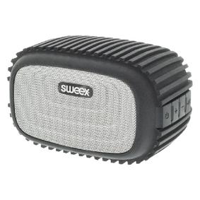 Bluetooth Reproduktor 4 W Vestav�n� mikrofon �ern�/St��brn�