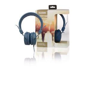 Sluchátka Na Uši 1.20 m Modrá