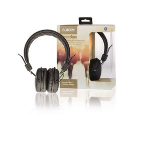 Sluchátka Na Uši Bluetooth 1.00 m Èerná