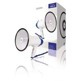 Megafon Vestav�n� mikrofon B�l�/Modr�