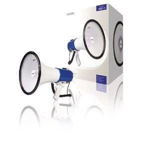 Megafon Odn�mateln� Mikrofon B�l�/Modr�